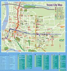 Taipei Subway Map by Taipei Tourist Map Taipei Taiwan New Zone