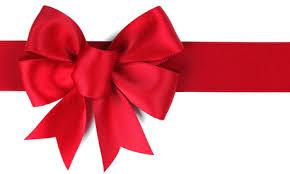 big present bow 100 ribbon clip image free