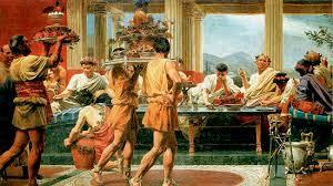 banchetti antica roma i pasti romanoimpero