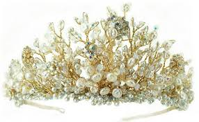 handmade tiaras made wedding day tiara exclusive designs from basia zarzycka