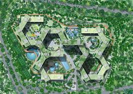 site plan gallery of the interlace oma ole scheeren 9