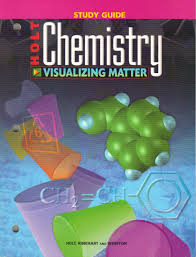 amazon com holt chemistry visualizing matter study guide