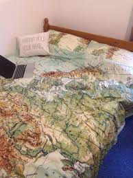 World Map Duvet Cover by Bedding Map Bedding Queen
