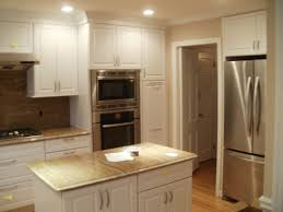 White Kitchen Cabinets With Gray Granite Countertops Kitchen Astonishing Black Kitchen Cabinet Remodeling With Carved