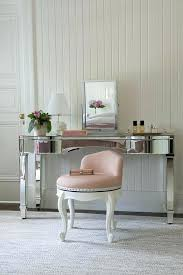 small dressing table with mirror and stool makeup table stool mirrored vanity with pink stool small dressing
