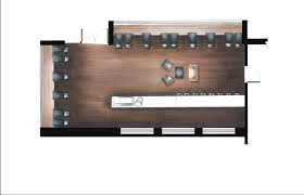Hand Rendered Floor Plan Dcd Student Interior Designer