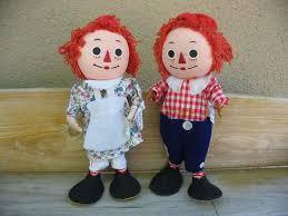 vintage raggedy ann u0026 andy bend em dolls ad 565623 addoway