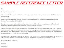 doc 750917 character letter of recommendation u2013 5 samples of