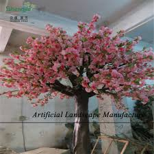 sjc004 high quality artificial cherry blossom tree different style