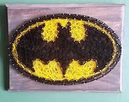batman string art etsy