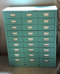 Teal File Cabinet Metal File Cabinet Painted With Annie Sloan