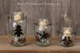 jar glass candle holders ornaments
