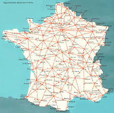 Loire Valley France Map by France France Map Map Of France Driving Distances Between