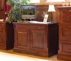 Mahogany Home Office Furniture Chateau Mahogany Home Office Computer Desk