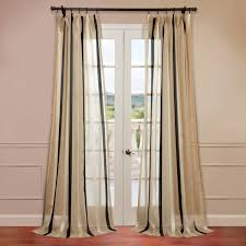 Striped Linen Curtains Soulful Horizontal Striped Curtains Half Price Drapes Half Door