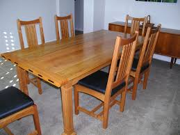arts and crafts home interiors ordinary arts and crafts dining room table part 4 solid walnut