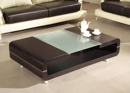 Glass Sofa Table Modern Tips To Put Something At The Living Room Center Table Designs