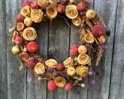large fall wreath autumn wreath thanksgiving wreaths luxury