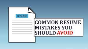 avoiding resume mistakes avoiding resume mistakes avoiding resume mistakes