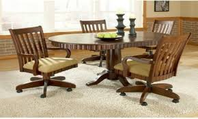 Dining Room Chair Casters Dining Room Table Caster Chairs Best Caster Dining Room Chairs