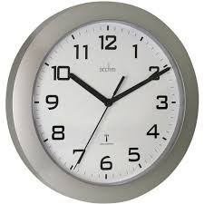 radio controlled wall clock white staples