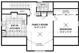 craftsman style house plan 1 beds 1 baths 751 sq ft plan 56 675