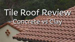 Cement Tile Roof Tile Roof Review Concrete Vs Clay