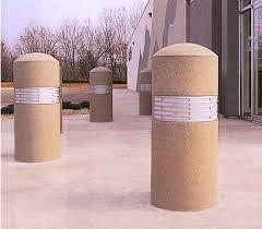 concrete bollard lighting fixtures bollard with lighting bollards concrete bollards