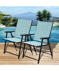 Outdoor Furniture Folding Chairs by Best Outdoor Patio Sling Chairs Reviews In 2017