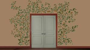 pochoir chambre bébé simulations de decoration au pochoirles murs de