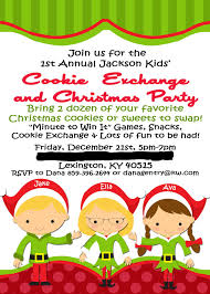 cookie exchange party invitation wording mickey mouse