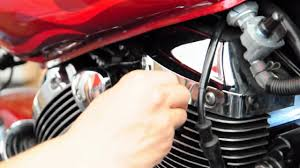 how to replace spark plugs on a honda shadow spirit 750 motorcycle