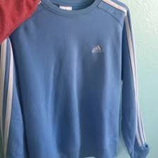 light blue adidas hoodie adidas originals 3 stripes a line sweatshirt 58 liked on