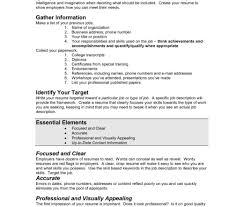 98 grade 7 resume good resumer example