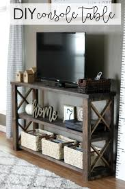 build a console table how to build a diy console table for 50 or less