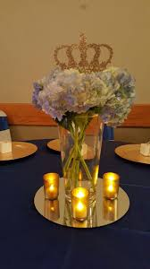 Baby Shower Center Pieces Ideas Royal Prince Baby Shower Centerpieces Juliana Dez Events