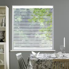 privacy 50mm pure white real wood direct blinds
