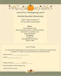 thanksgiving lunch at estrella mountain elementary 2017 estrella