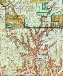 Map Of Zion National Park Trail Map Of Zion National Park Utah 214 National