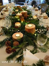 decoration table de noel 2015 settings for wedding or event