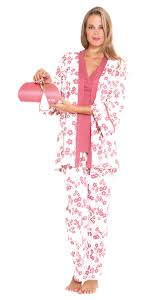 olian maternity blossoms pajama set with gift box olian maternity
