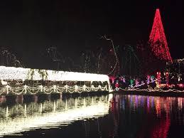 Chickasha Lights Shannon Springs Park Chickasha Oklahoma The Light Display At