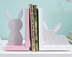 bunny bookends bunny bookends etsy