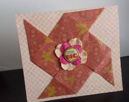 How To Make Origami Greeting Cards - ten ideas for origami greeting cards origami cards origami and
