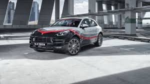 Porsche Macan Facelift - porsche macan turbo gets special race livery in singapore