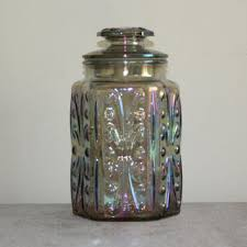 vintage glass canisters kitchen best vintage kitchen canisters glass products on wanelo