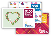 redeem a charity gift card canadahelps donate to any charity