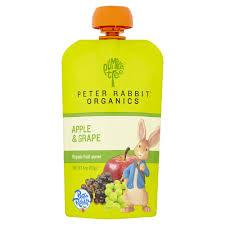 rabbit organics rabbit organics banana mango and orange puree
