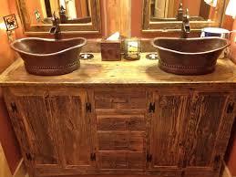 Rustic Bathroom Vanity by Rustic Bathroom Sinks And Vanities Crafts Home