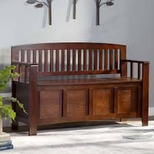 Country Casual Benches Small Wood Bench Wayfair